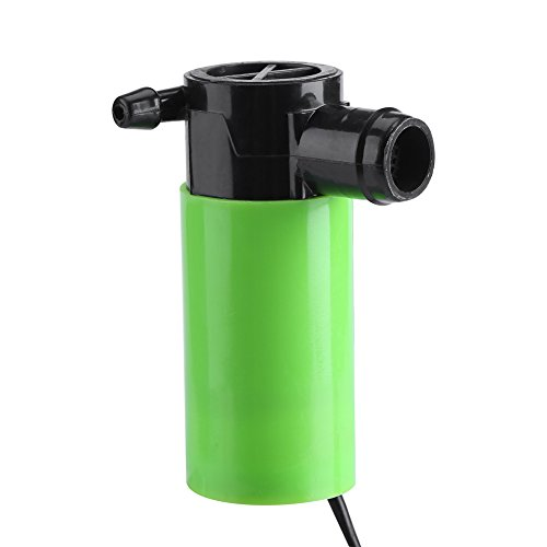 Bomba Sumergible Bomba de Agua para Estanque 12V Fuente Acuario Circulatin para Fuentes para Mascotas, Acuario, Tanque de...