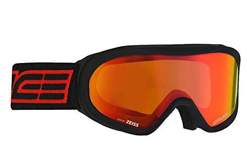 Salice 905DARWFO Ski Mask SR OTG Black Red Unisex Adult, One Size
