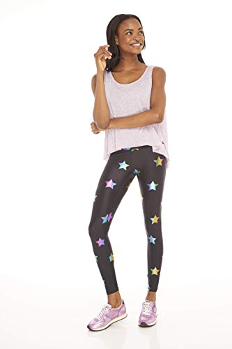 Used, Terez Women's Foil Printed Tall Band Leggings, Rainbow for sale  Delivered anywhere in USA