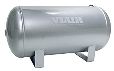 "Viair 91050 5 Gallon 4-Port Air Reservoir Tank with 1/4"" NPT"