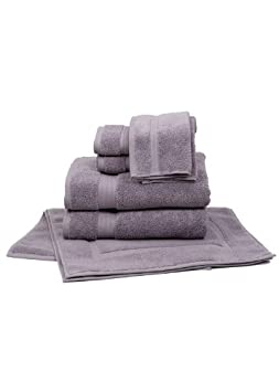 Pink PF101005S-8 Pure Fiber 8-Piece Zero Twist Cotton Towel Set