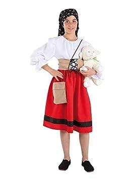 DISBACANAL Disfraz pastora Infantil - Único, 10 años: Amazon ...