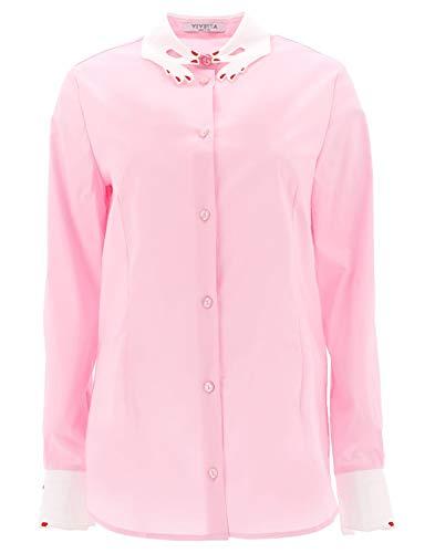 Donna Rosa Cotone Vv286351 Camicia Vivetta CxY5HqTw