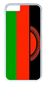 ACESR Malawi Flag iPhone 6 Hard Shell Case Polycarbonate Plastics Unique Case for Apple iPhone 6(4.7 inch) White