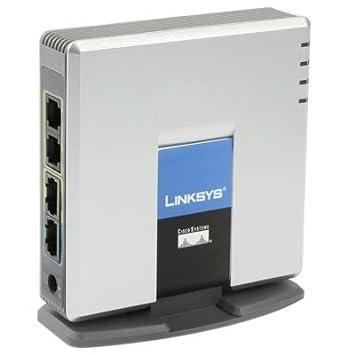 Pasarela VoIP Libre LINKSYS spa2102 PSTN teléfono Adaptador con 2 x FXS + WAN Port: Amazon.es: Electrónica
