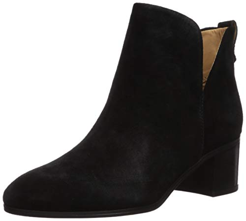 Franco Sarto Women's Reeve Ankle Boot, Black Suede, 7 M US