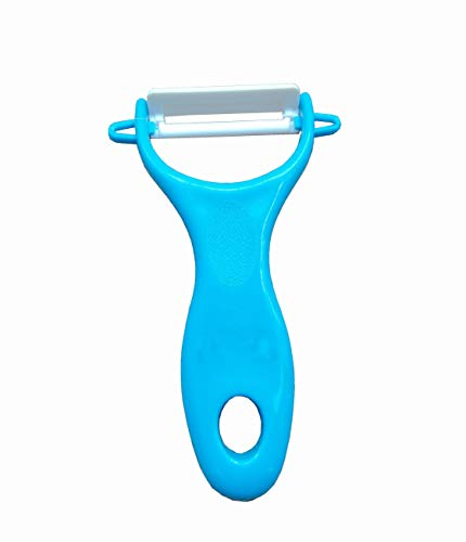 Lotus Stores Set of 2 Ultra Sharp Ceramics Y Peeler With Ergonomic And Comfortable Handle .The Best For Vegetable and Fruit Peeler.Original Swiss and Contains Potato Eye Remover