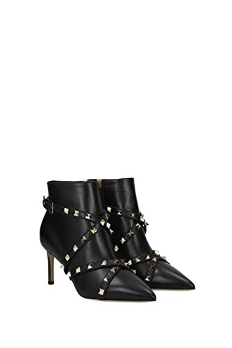 VALENTINO GARAVANI Ankle Boots Women - Leather (0S0E40CBL) UK Black DhBHU