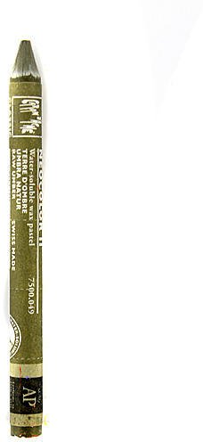 Caran d'Ache Neocolor II 水溶性ワックスパステル (天然アンバー) 4個 sku# 1824129MA   B015TB856A