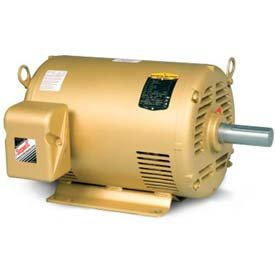(Baldor-Reliance HVAC Motor, EM3314T-G, 3 PH, 15 HP, 230/460 V, 3600 RPM, ODP, 215T)
