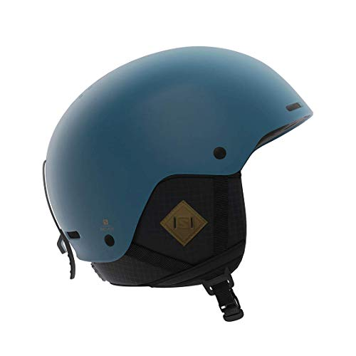 Salomon BRIGADE+ Men's Blue Adjustable Freeride Ski Snowboard Helmet, Large