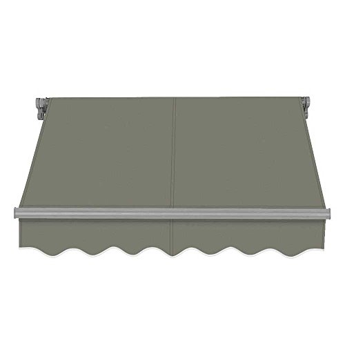 ADVANING SG Series, Slim Top Quality Manual Retractable Awning,12'x10', Gray, Model: MA1210-A118NG by ADVANING