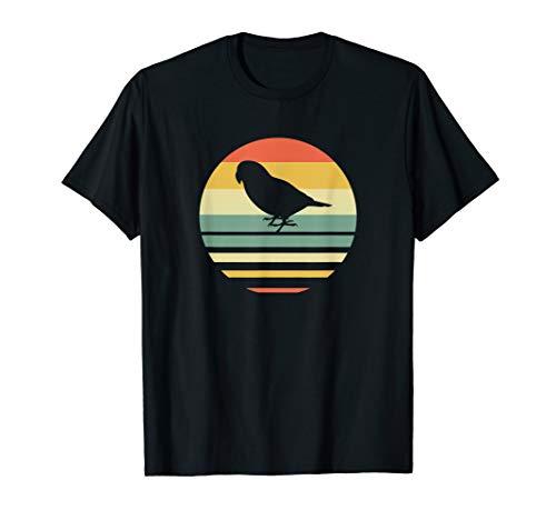 Retro Vintage Style 70's 80's Parrot Silhouette T-Shirt ()
