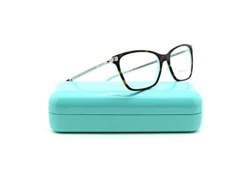 Tiffany & Co. TF 2158-B Women Butterfly Eyeglasses RX - able Prescription Frame (Havana Frame 8134, ()
