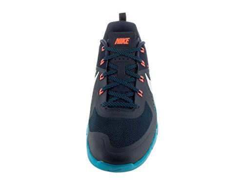 Nike Metcon 1, Scarpe Sportive Uomo Blu / Bianco / Arancione (Mid Nvy/White-bl Lgn-hypr Orng)