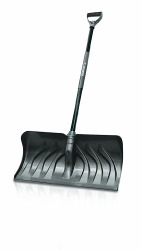Truper 33819 24-Inch Snow Pusher/Shovel with D-Grip Handle