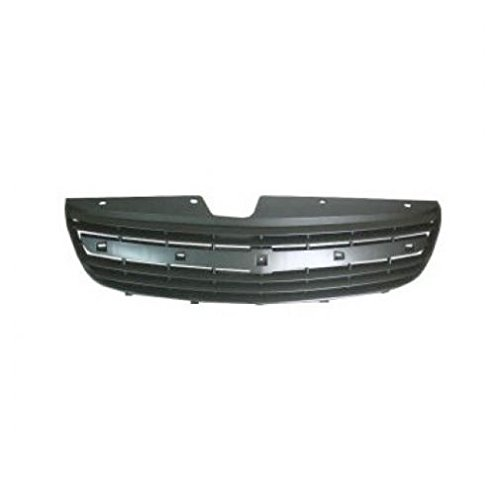 Gray Front End Grill Grille for 00-03 Malibu 04-05 Chevy Classic