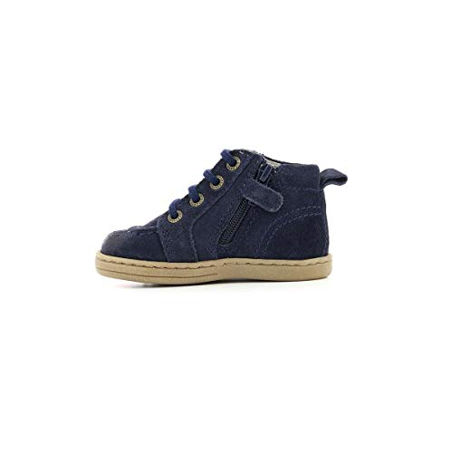Kickers E Tacktil Lacage Bottillon Marine Bleu TTrdqxw0