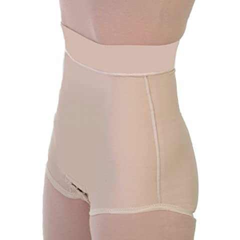 Post Op Abdominoplasty Tummy Tuck Compression Garments - Liposuction Surgical 2in Waist Panty Girdle | Contour Style 22 - Small - (Post Tummy Tuck)