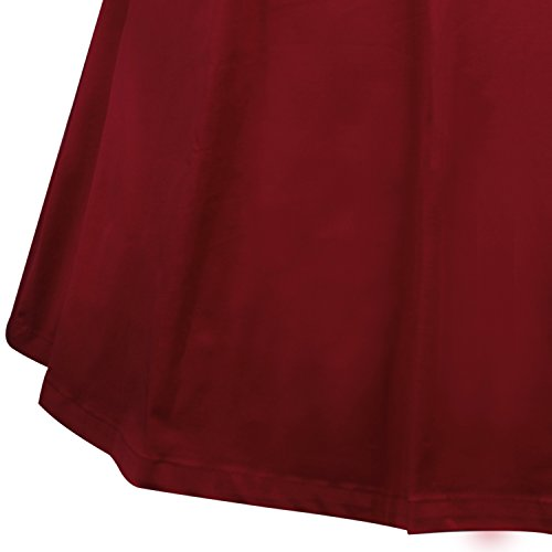 50 60 Soire des Anne Points Robe Licou E053 40 Polka Bal winered Vintage LUOUSE de zTS8nwZ