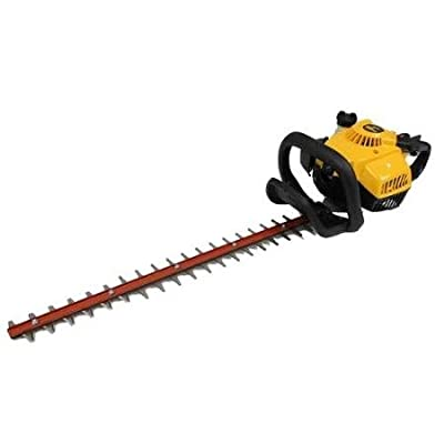 """Poulan Pro PP2822 28cc 22"""" Gas Powered Dual Action Hedge Trimmer Clipper Saw [Refurbished]"""