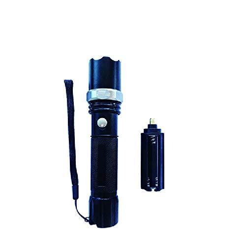 - ZMDHL Super Bright Tactical Flashlight, Rechargeable 6800AH, Waterproof, Third Gear Mode,Single