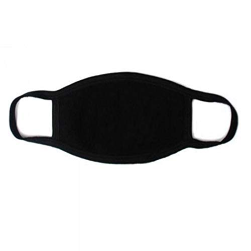 YENJO Unisex Fashion 3 Layers Solid Ear Loop Warm Anti Dust Face Mask Masks