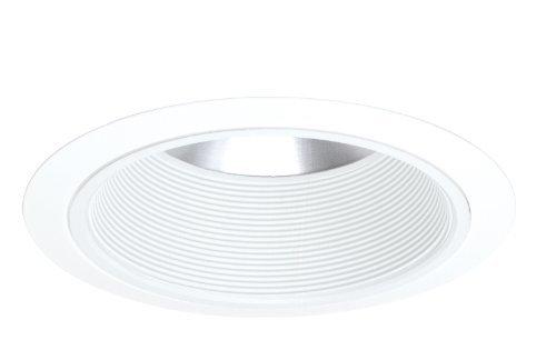 Shallow Baffle (Juno Lighting 244W-WH 6-Inch Shallow White Baffle with White Trim by Juno Lighting Group)