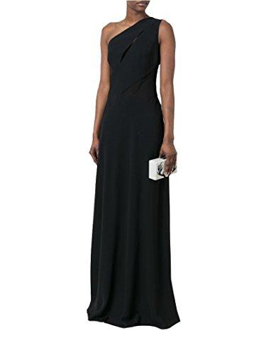 Acetat A04411618555 Schwarz Kleid Damen Alberta Ferretti UwpTq67nzW