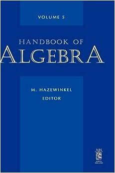 Libros Para Descargar En Handbook Of Algebra, Volume 5 De PDF A PDF