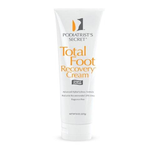 Crème secret Recovery pied total de podiatre, 8 oz