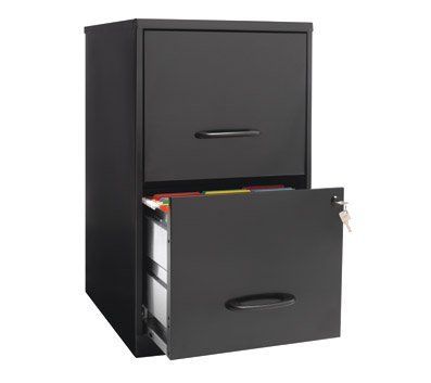 OfficeMax Two-Drawer Vertical File, 18
