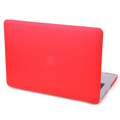 "MacBook 13.3"" Pro Case , HDE Rubberized Plastic Cover Snap O"