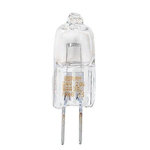 Osram Sylvania 64435/20/W 320/lumens T4/Ampoule halog/ène G4/Base 24/V Clair
