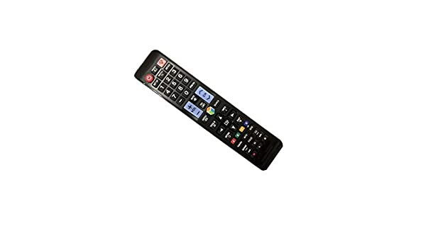 Easy Replacement Remote Conrtrol Fit for Samsung UN55F6300AF UN50F6300AF UN60H7150AFXZA UN60HU8550 4K Smart 3D LCD LED HDTV TV