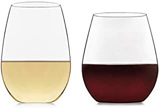 product image for Libbey Signature Kentfield Stemless 12-Piece Wine Glass Party Set for Red and White Wines