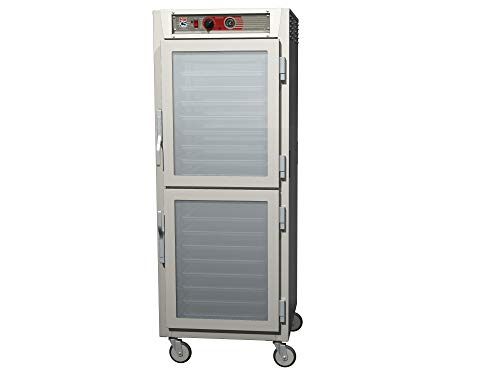 - Metro C569L-SDC-UPDC C5 6 Series Pass-Thru Heated Holding Cabinet, Full Height, Stainless Steel, Dutch Clear Doors/Dutch Clear Doors, Universal Wire Slides