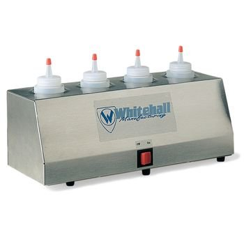 DSS Gel Warmer with two 8 oz. bottles 4-Tube ()