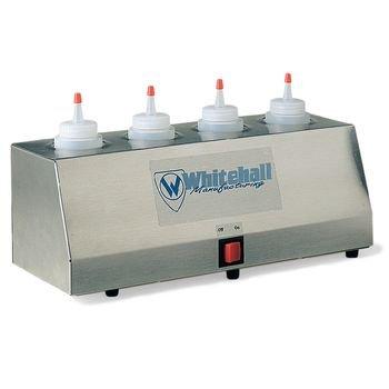 DSS Gel Warmer with two 8 oz. bottles 4-Tube Warmer