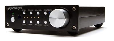 Grace Digital GDI-BTAR512N Digital Integrated Stereo Amplifier (Black) by Grace Digital