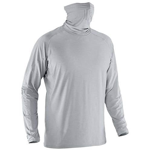 NRS Baja Long Sleeve Sun Shirt-Quarry-XL