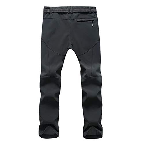 Pantalons Femmes Chaud De La Montagne Ski Pour Sports Shell D'hiver Et Soft Hommes Pantalon Gray Bozevon g07dq0