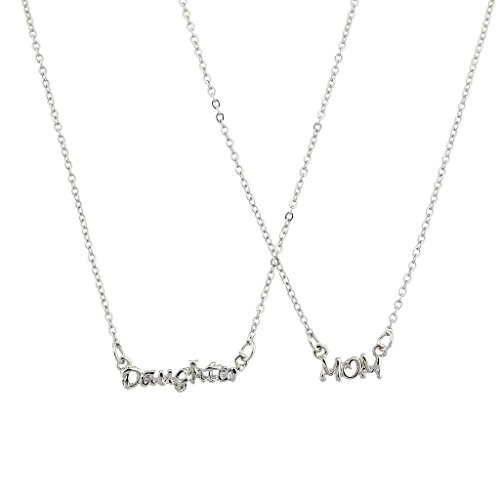 (Lux Accessories Daughter Mom Mother Mommy BFF Best Friends Forever Necklace Set.)