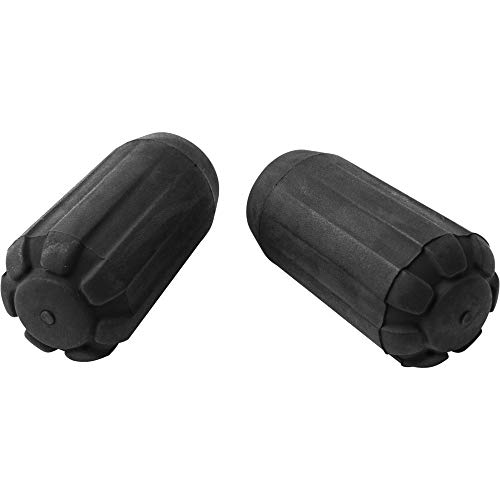 Series Edge Diamond (Black Diamond Trekking Pole Tip Protectors, Black)