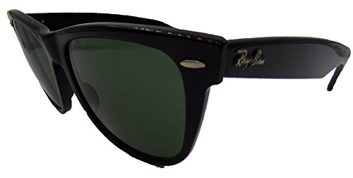 Wayfarer II Ray-Ban by Bausch & Lomb Ebony (black) Original never owned Real New Vintage Sunglasses made in the USA in the - Real Ban Ray