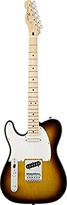 Fender Standard Telecaster Electric Guitar - Left Handed - Maple Fingerboard, Lake Placid Blue by Fender Musical Instruments Corp.