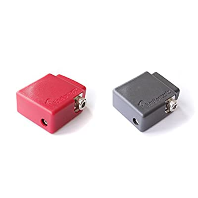 KnuKonceptz Ultimate Positive and Negative Battery Terminal Pair with OEM Top Post Adapter: Industrial & Scientific