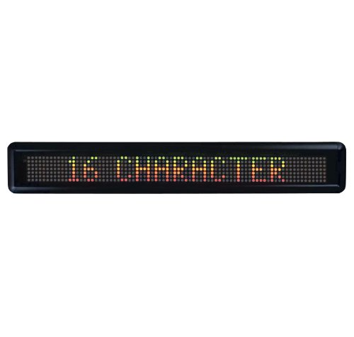 SP RICHARDS Newon 2827 16-Character Electronic Message Ce...