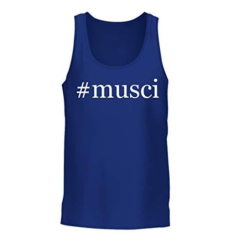 #Musci - A Nice Hashtag Men's Tank Top, Blue, ()