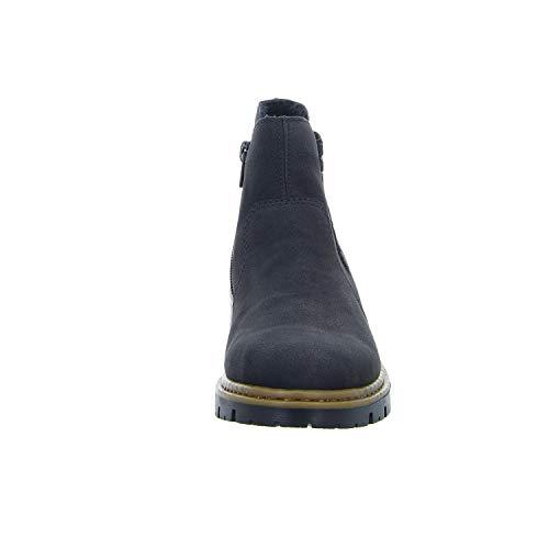Women 71364 Ankle Schwarz SCHWA Boots Black SCHW Rieker 00 Ydxwqn